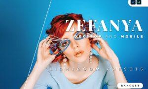 Zefanya Desktop and Mobile Lightroom Preset