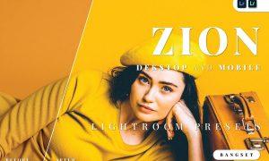 Zion Desktop and Mobile Lightroom Preset