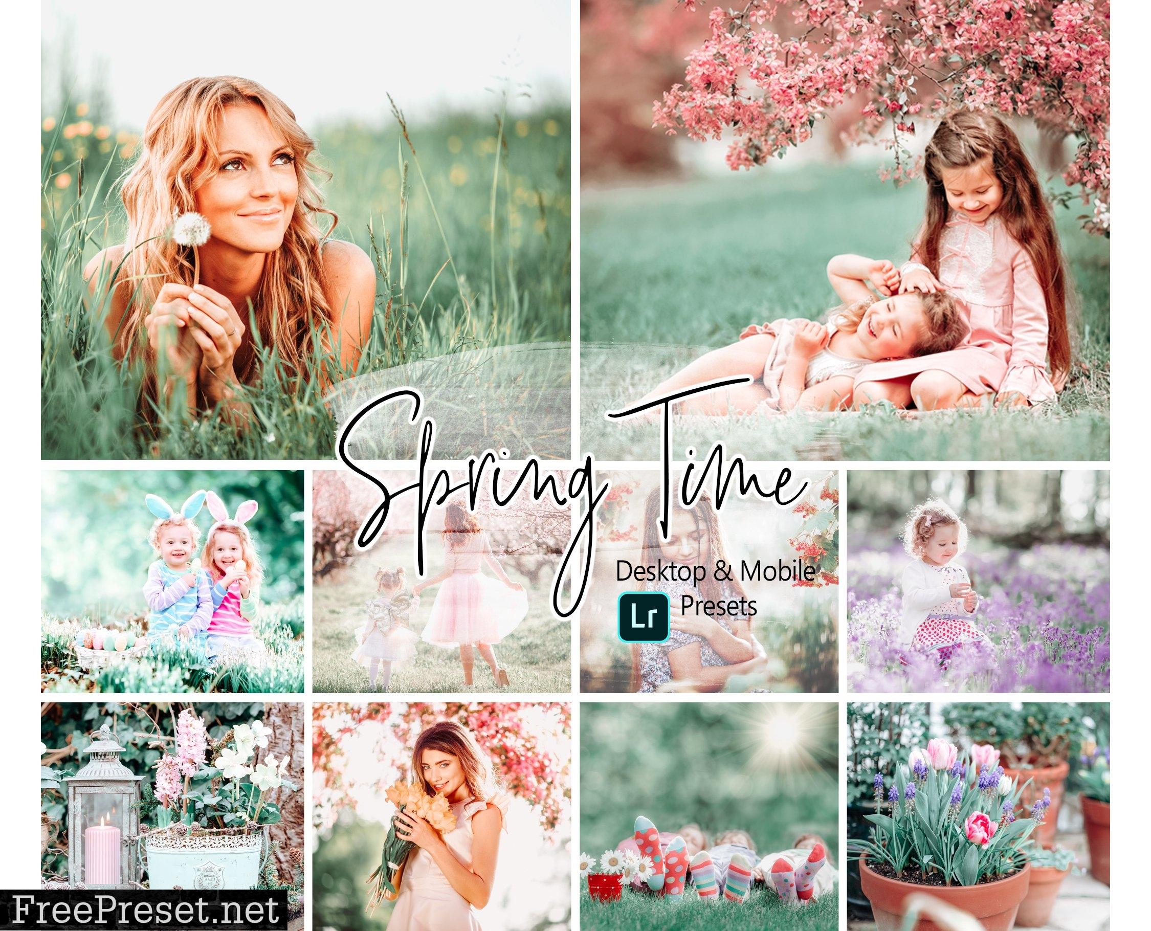 10 Spring Time Lightroom Presets 6085506