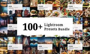 100+ Lightroom Presets Bundle 6222707