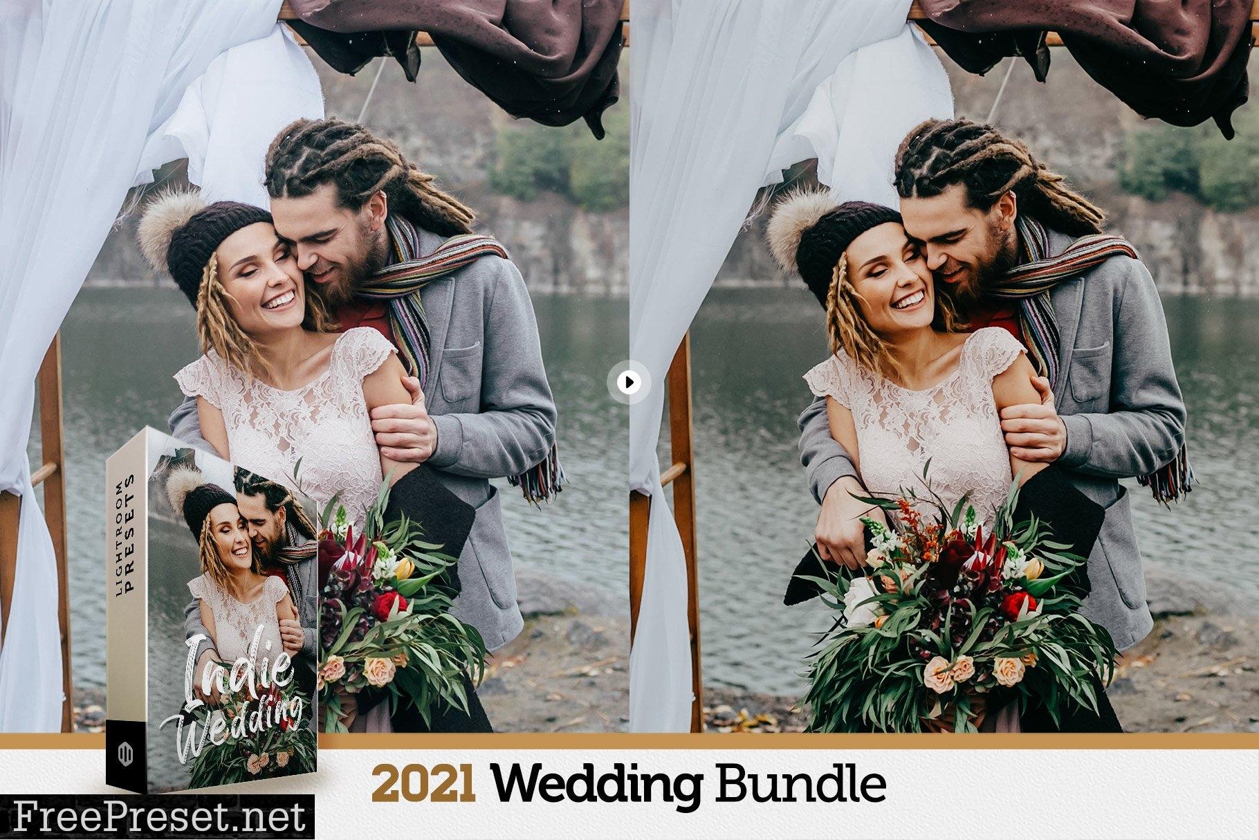 200+ Wedding Presets Bundle 2021 6172458