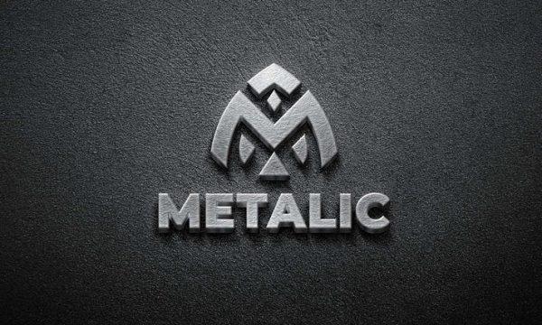3D Metal - Mockup Logo
