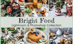 6 Bright Food Photo Edit Collection 6254863