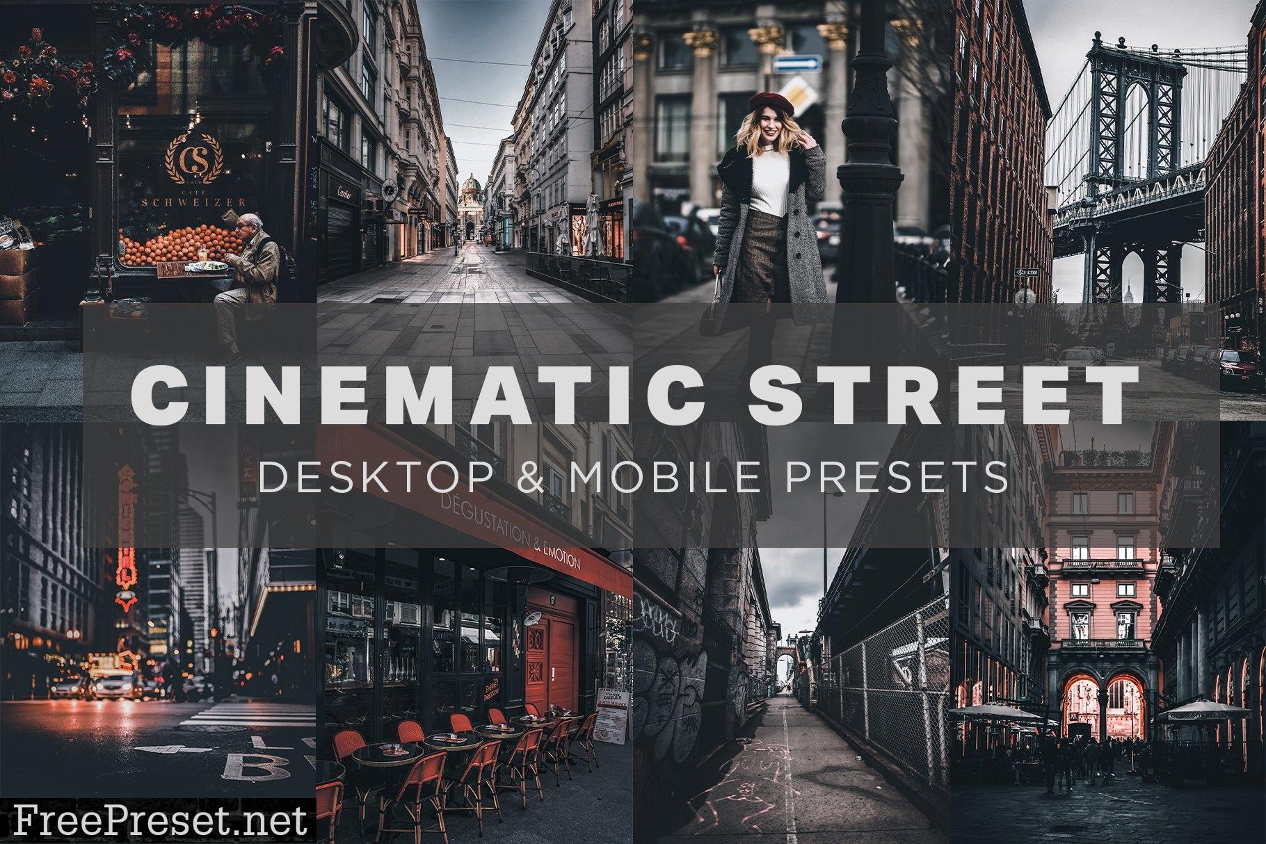 6 Cinematic Street Lightroom Presets 6276839