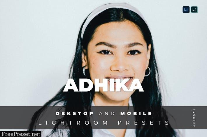 Adhika Desktop and Mobile Lightroom Preset