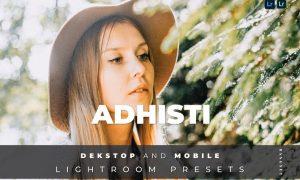 Adhisti Desktop and Mobile Lightroom Preset