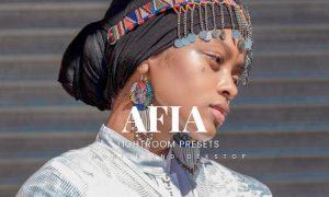 Afia Lightroom Presets Dekstop and Mobile