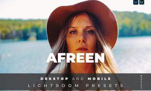 Afreen Desktop and Mobile Lightroom Preset