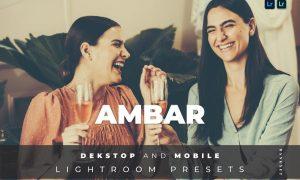 Ambar Desktop and Mobile Lightroom Preset