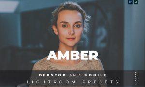 Amber Desktop and Mobile Lightroom Preset