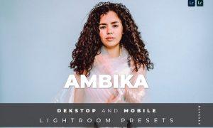 Ambika Desktop and Mobile Lightroom Preset
