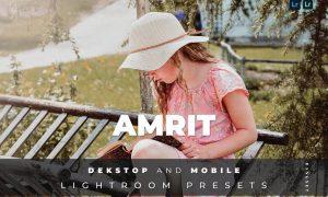 Amrit Desktop and Mobile Lightroom Preset