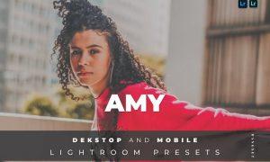 Amy Desktop and Mobile Lightroom Preset