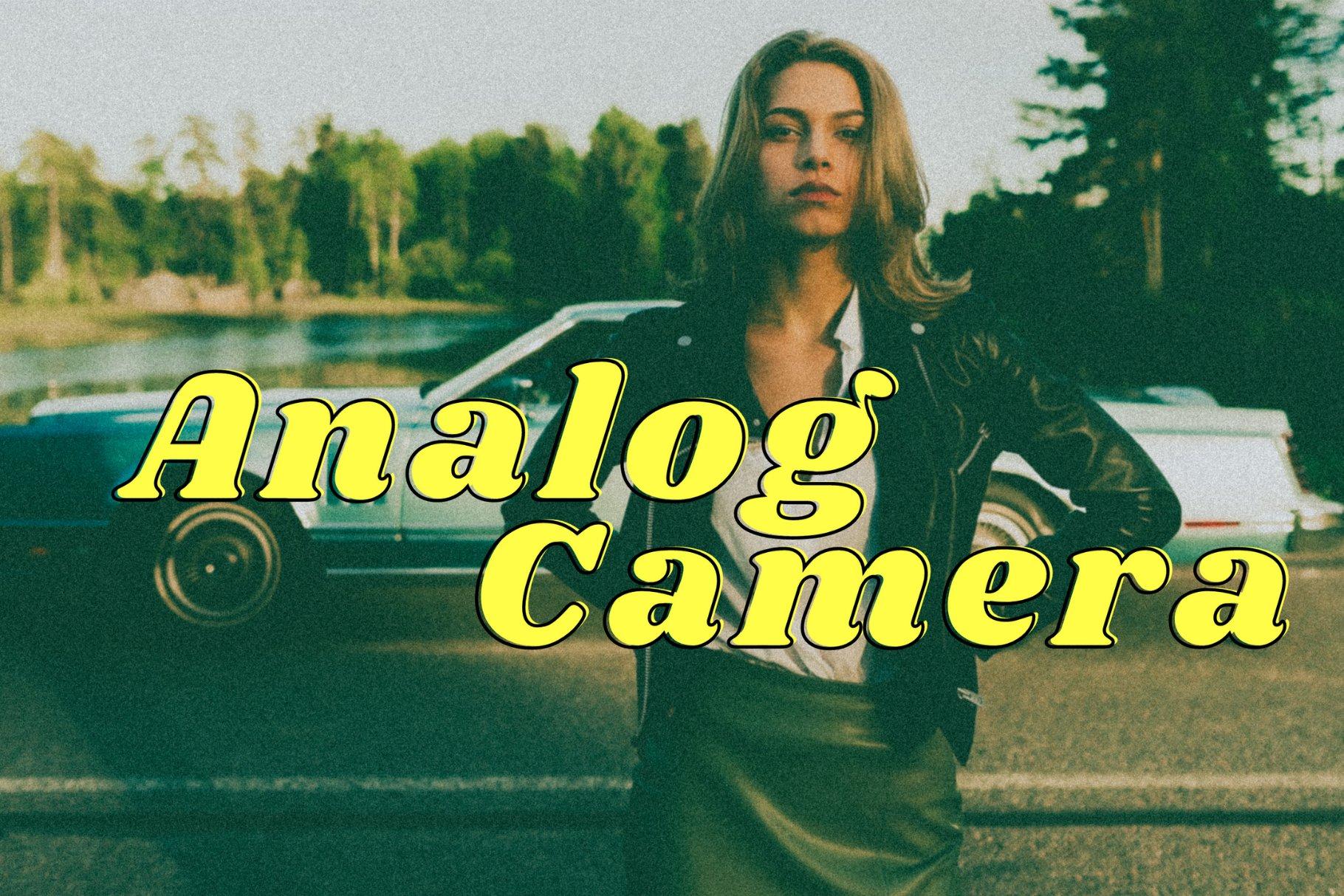 Analog Camera Film Presets 6293482