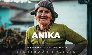 Anika Desktop and Mobile Lightroom Preset