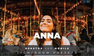 Anna Desktop and Mobile Lightroom Preset
