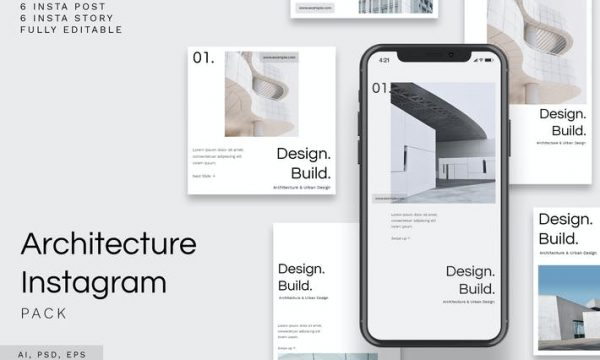 Architecture Instagram Pack Y4LXK76