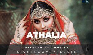Athalia Desktop and Mobile Lightroom Preset
