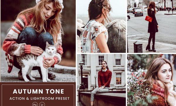 Autumn Tone Action & Lightrom Presets