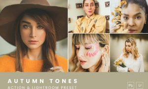 Autumn Tones Action & Lightroom Preset