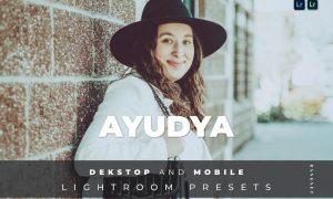 Ayudya Desktop and Mobile Lightroom Preset
