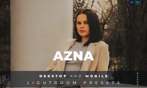 Azna Desktop and Mobile Lightroom Preset