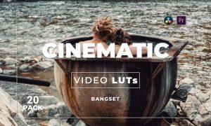 Bangset Cinematic Pack 20 Video LUTs