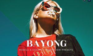 Bayong Mobile and Desktop Lightroom Presets