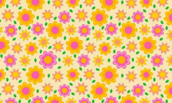 Beauty Flower Patterns N7BYPA4
