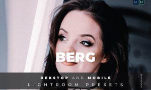 Berg Desktop and Mobile Lightroom Preset