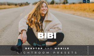 Bibi Desktop and Mobile Lightroom Preset