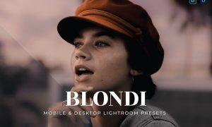Blondi Mobile and Desktop Lightroom Presets