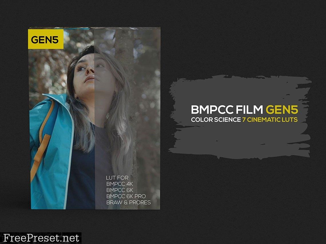 BMPCC Film Gen5 Luts 6302399