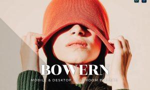 Bowern Mobile and Desktop Lightroom Presets