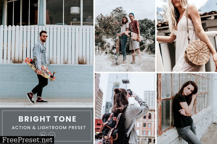 Bright Tone Action & Lightrom Presets