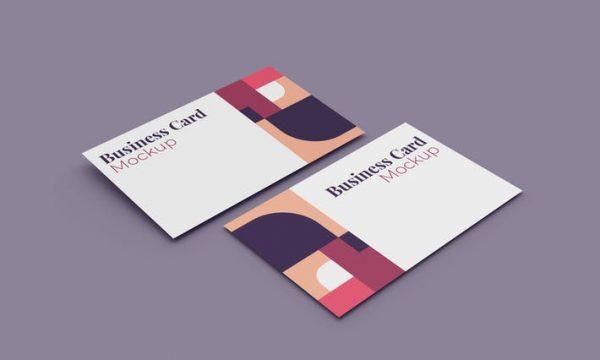 Business Card Mockup SFY4YNF