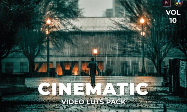 Cinematic Pack Video LUTs Vol.10