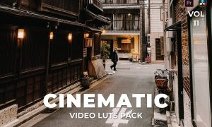 Cinematic Pack Video LUTs Vol.11