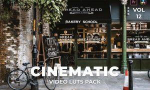 Cinematic Pack Video LUTs Vol.12