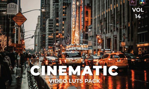 Cinematic Pack Video LUTs Vol.14
