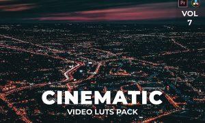 Cinematic Pack Video LUTs Vol.7