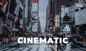 Cinematic Pack Video LUTs Vol.9