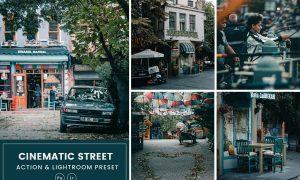 Cinematic Street Action & Lightrom Presets