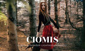 Ciomis Mobile and Desktop Lightroom Presets