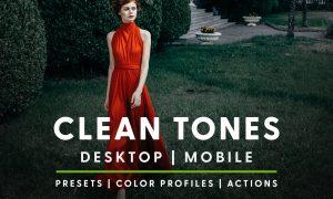 Clean Tones - Actions & Presets 6046970