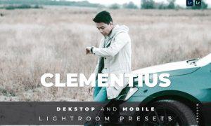 Clementius Desktop and Mobile Lightroom Preset