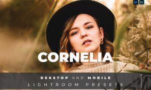 Cornelia Desktop and Mobile Lightroom Preset