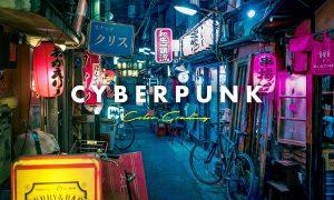 Cyberpunk Distortion Photo Effect