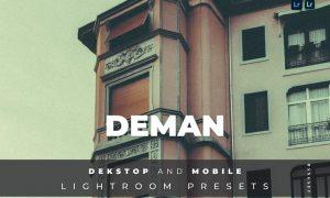 Deman Desktop and Mobile Lightroom Preset