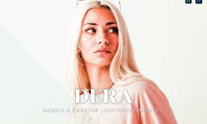 Dera Mobile and Desktop Lightroom Presets
